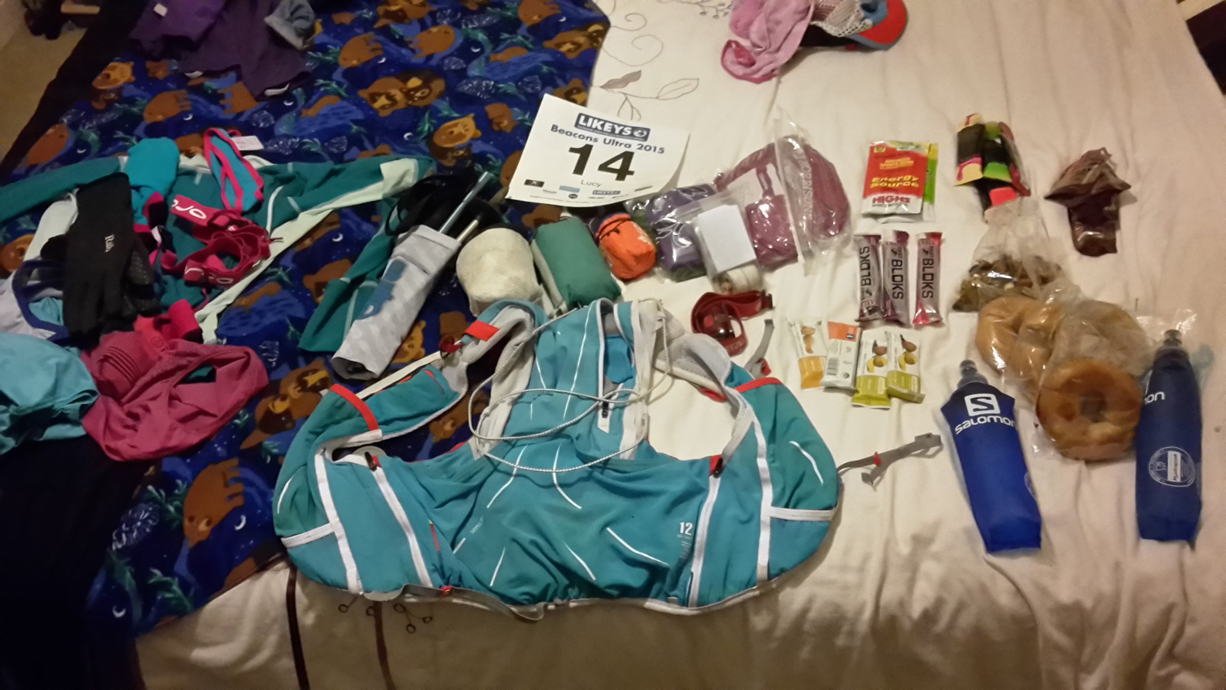 Packing for the Breacon's Ultra