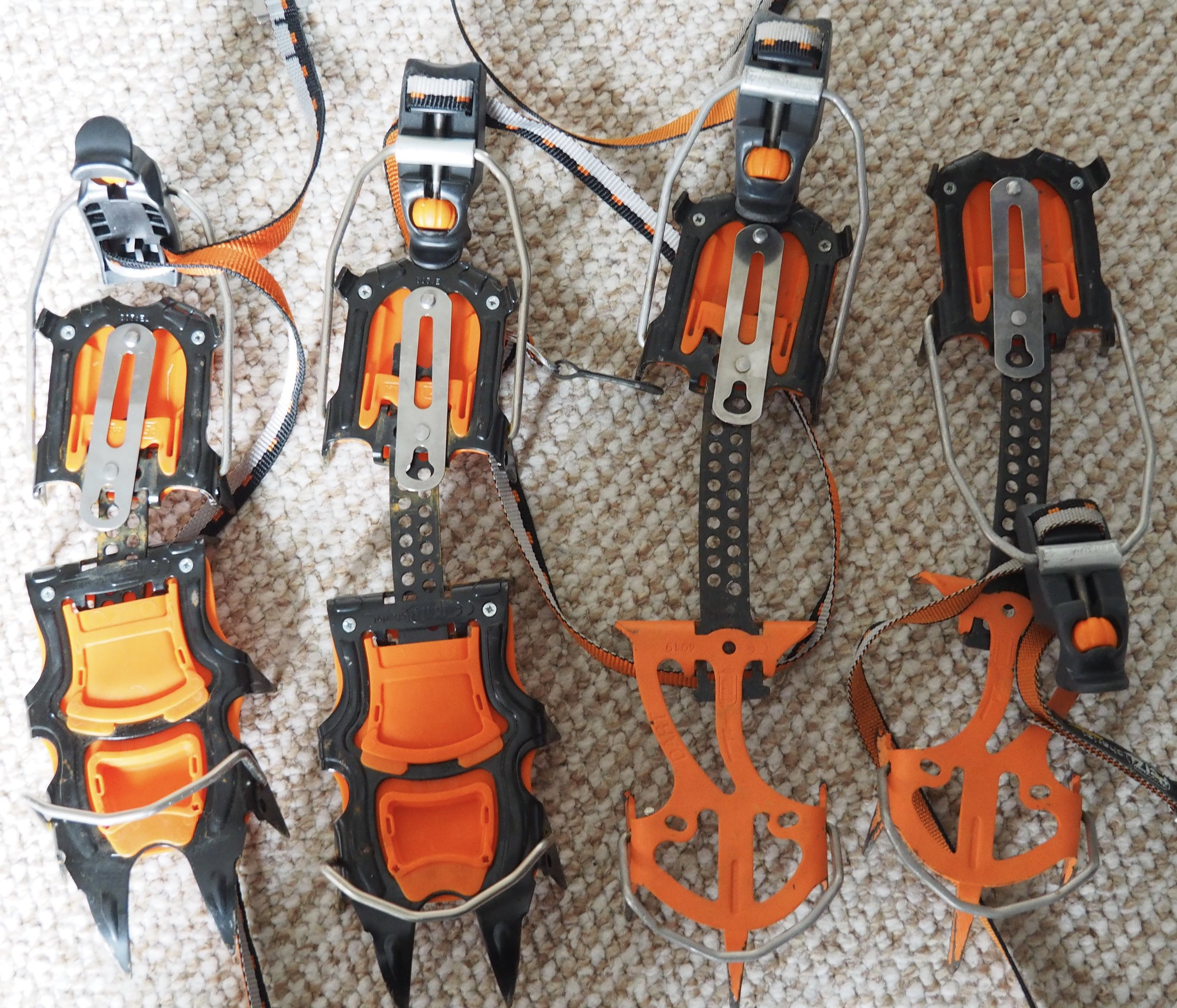 Having Classic and mixed crampons give you a lot of versatility. Petzl Crampons are great as the back section is the same so you can just take the front if you want to say weight.