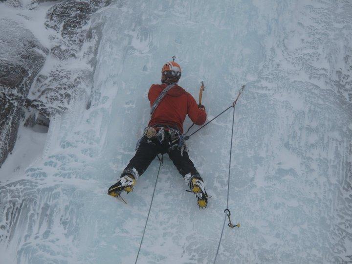 Need the screws when ice climbing.