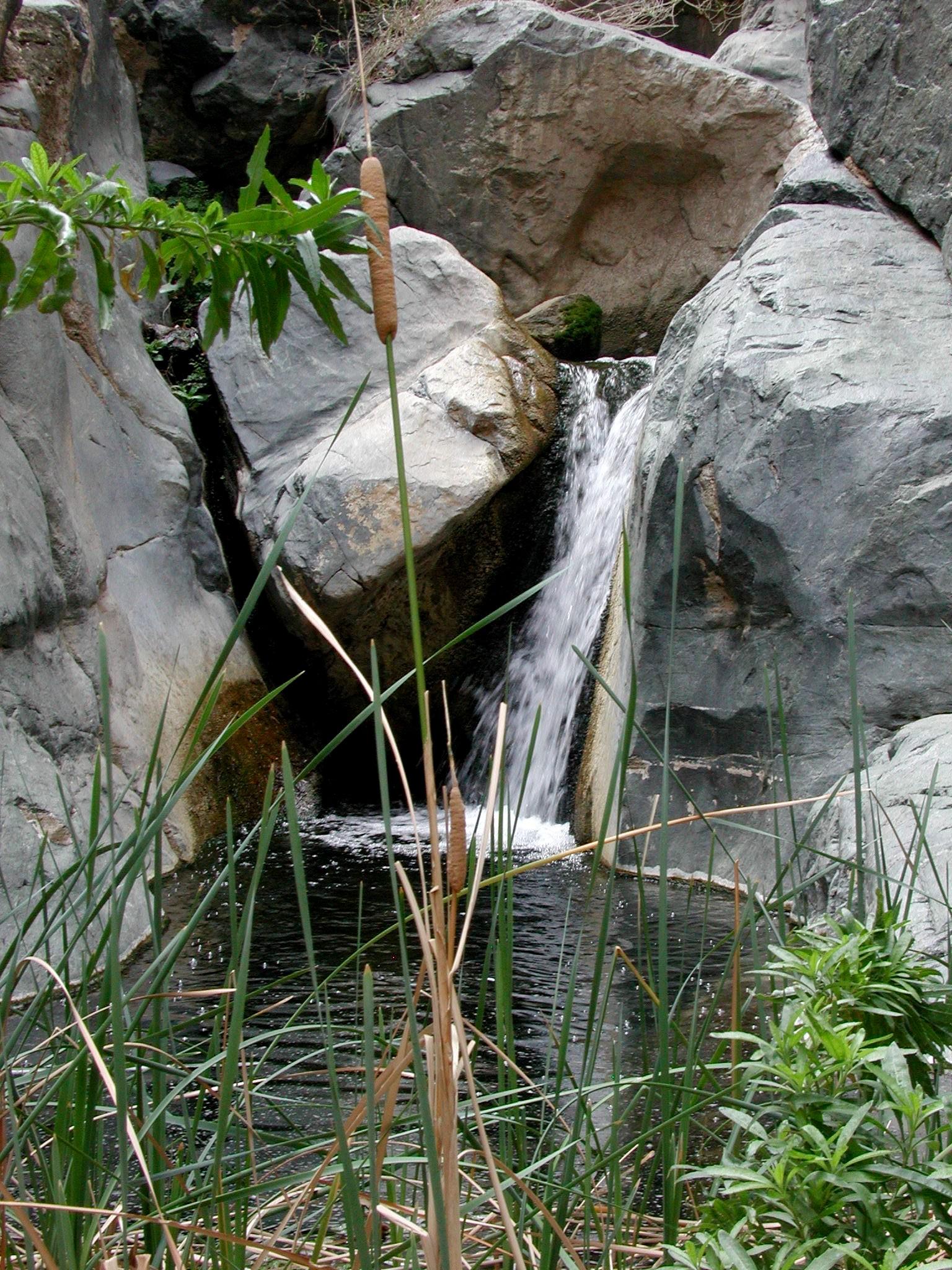 Pool At Darwin Falls