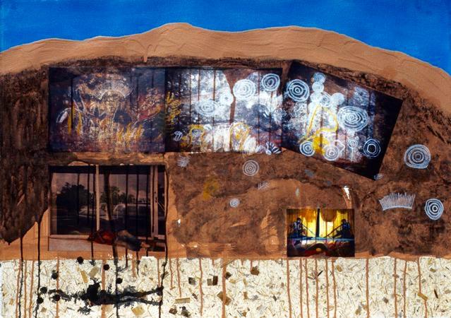Australia 5: Cave Paintings & Aboriginal Man