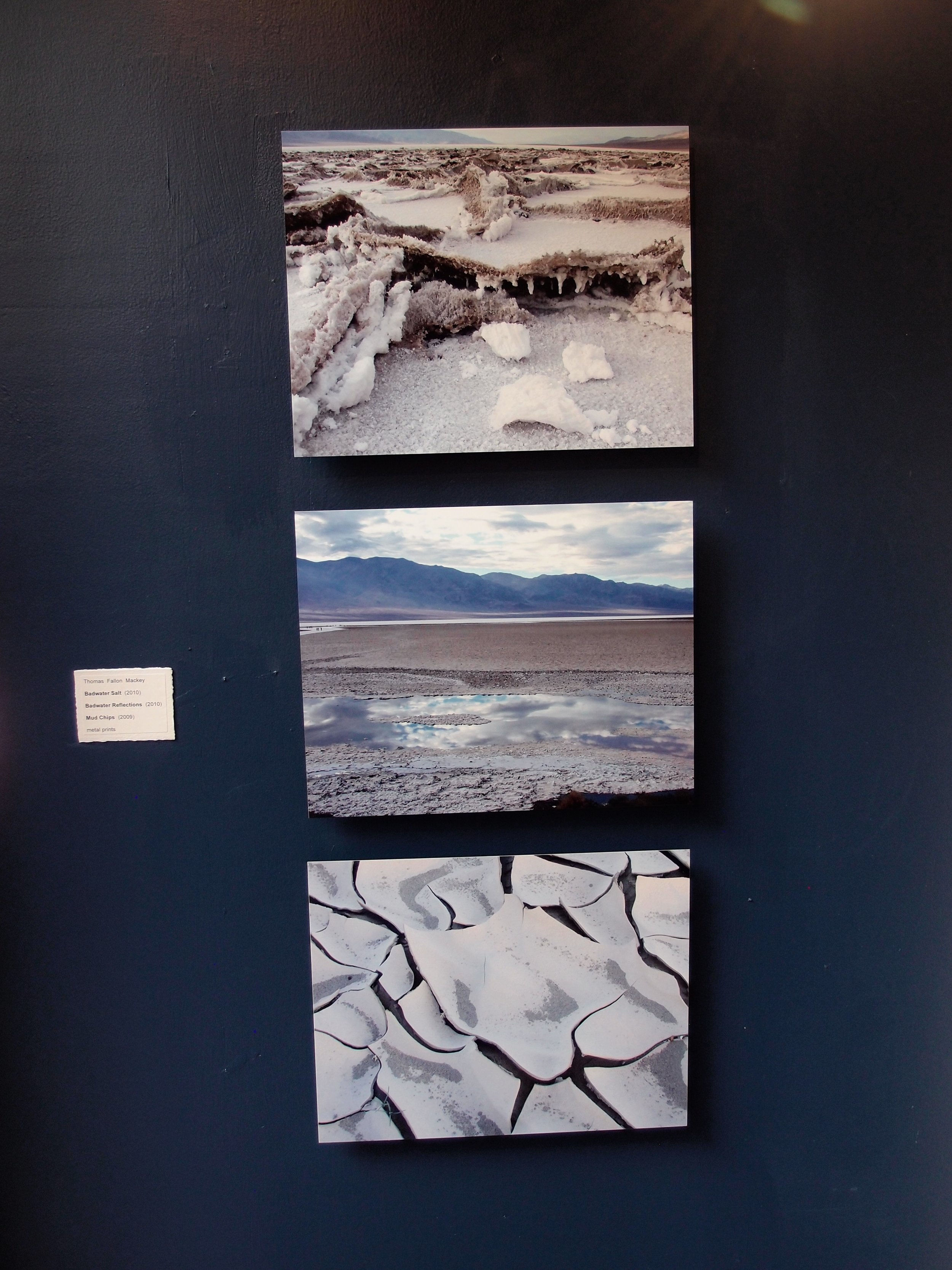 Badwater Salt (2010)  Badwater Reflections (2010)  Mud Chips (2009)