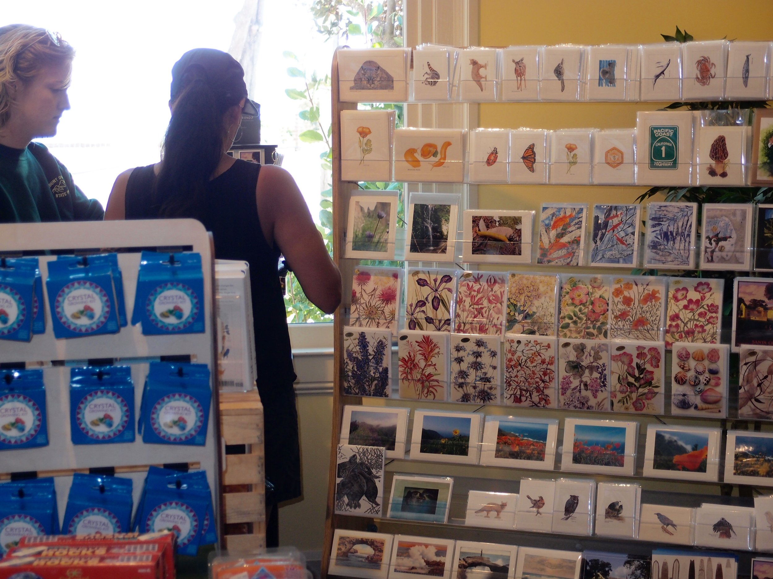 The museum has carried my note cards of original artwork and popular photography for many years.