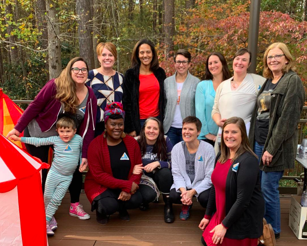 AFAR 2018 Founding Mothers at our annual pancake breakfast Friendsgiving fundraiser. Pictured are: L to R back row: Beth Johnson, Representative Julie von Haefen Representative Sydney Batch, Councilor Nicole Stewart, Erica King, Sarah Mason. Mayor Nancy McFarlane. front row Courtney Napier, Katie Mac Thompson, Ryan Johnston, Michelle Wang.
