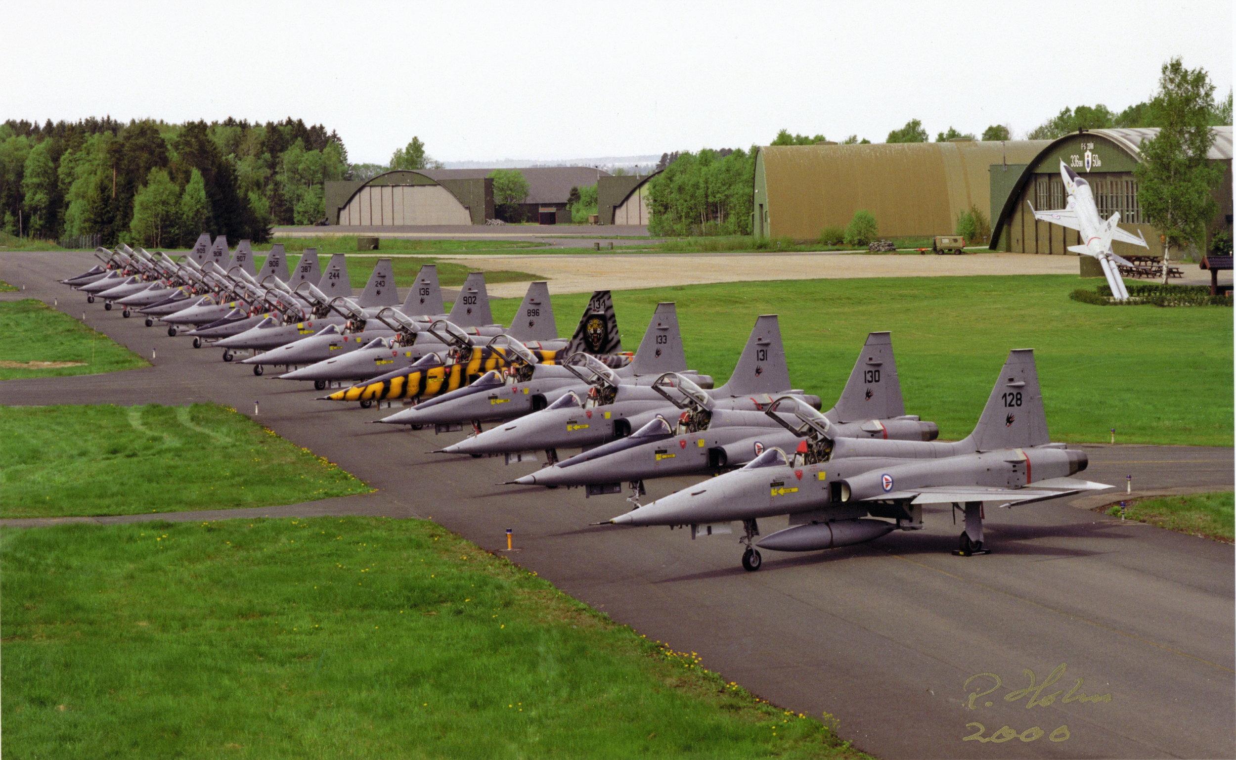 336 SKV - Rygge Hovedflystsjon år 2000