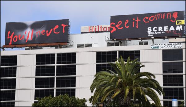 OOH:  Billboard, LA, Century Blvd + LAX