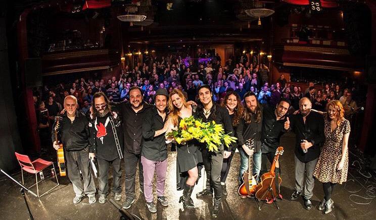 Tori Sparks La Huerta Album Release Concert Luz de Gas Barcelona, Spain