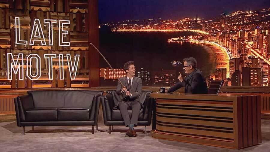 Late Motiv TV Program, Madrid, SPain