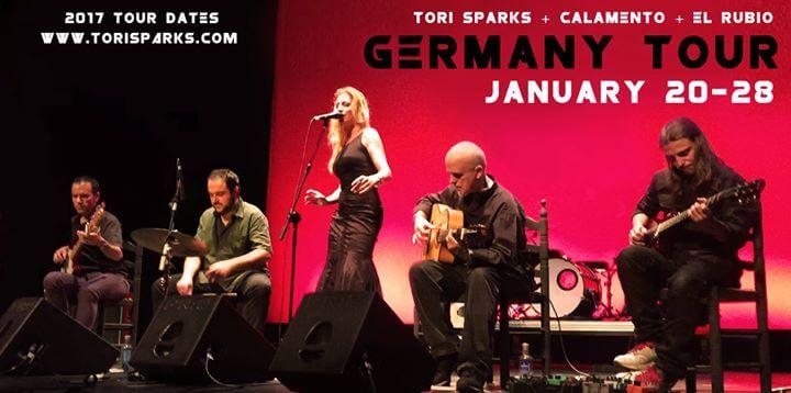 Tori Sparks Germany Tour January 2017