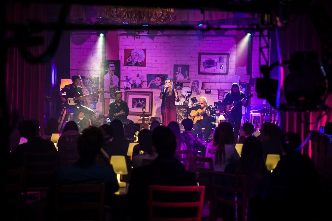 Tori Sparks Musics Live TV Recording Photo: Desi Estevez