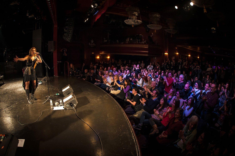 Tori Sparks La Huerta Release Concert Photo: Desi Estevez
