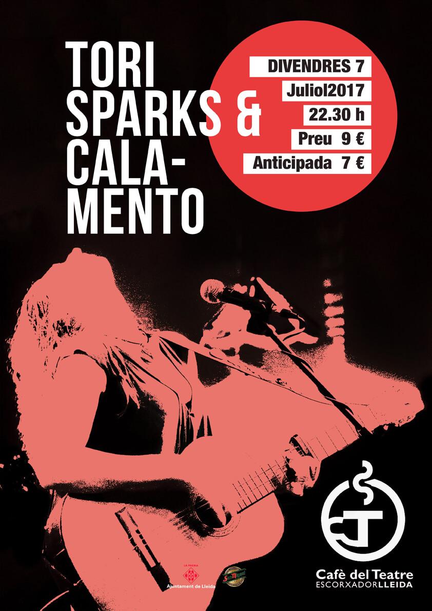 Tori Sparks Cafe Del Teatre Lleida 7 Julio 2017