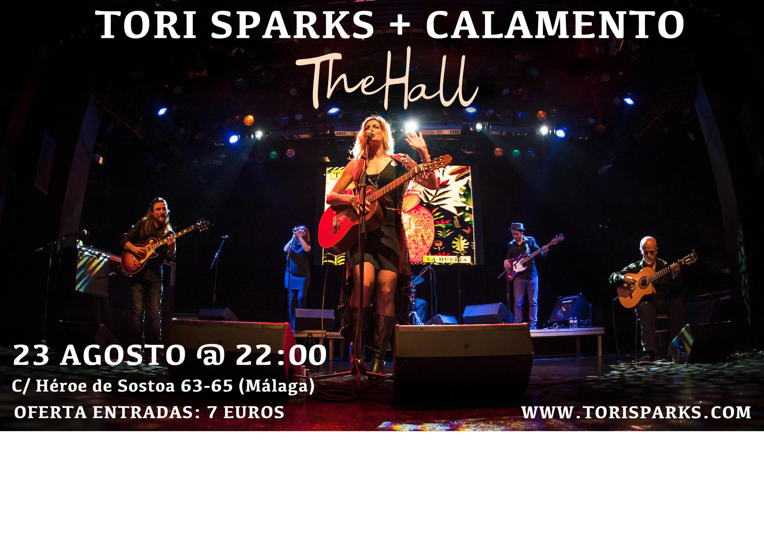 Tori Sparks The Hall Malaga