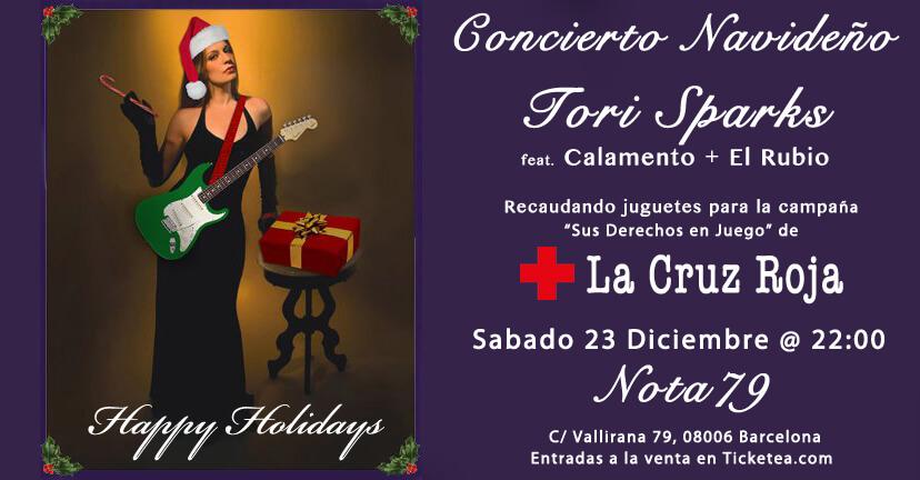 Nota79 Tori Sparks Christmas Concert