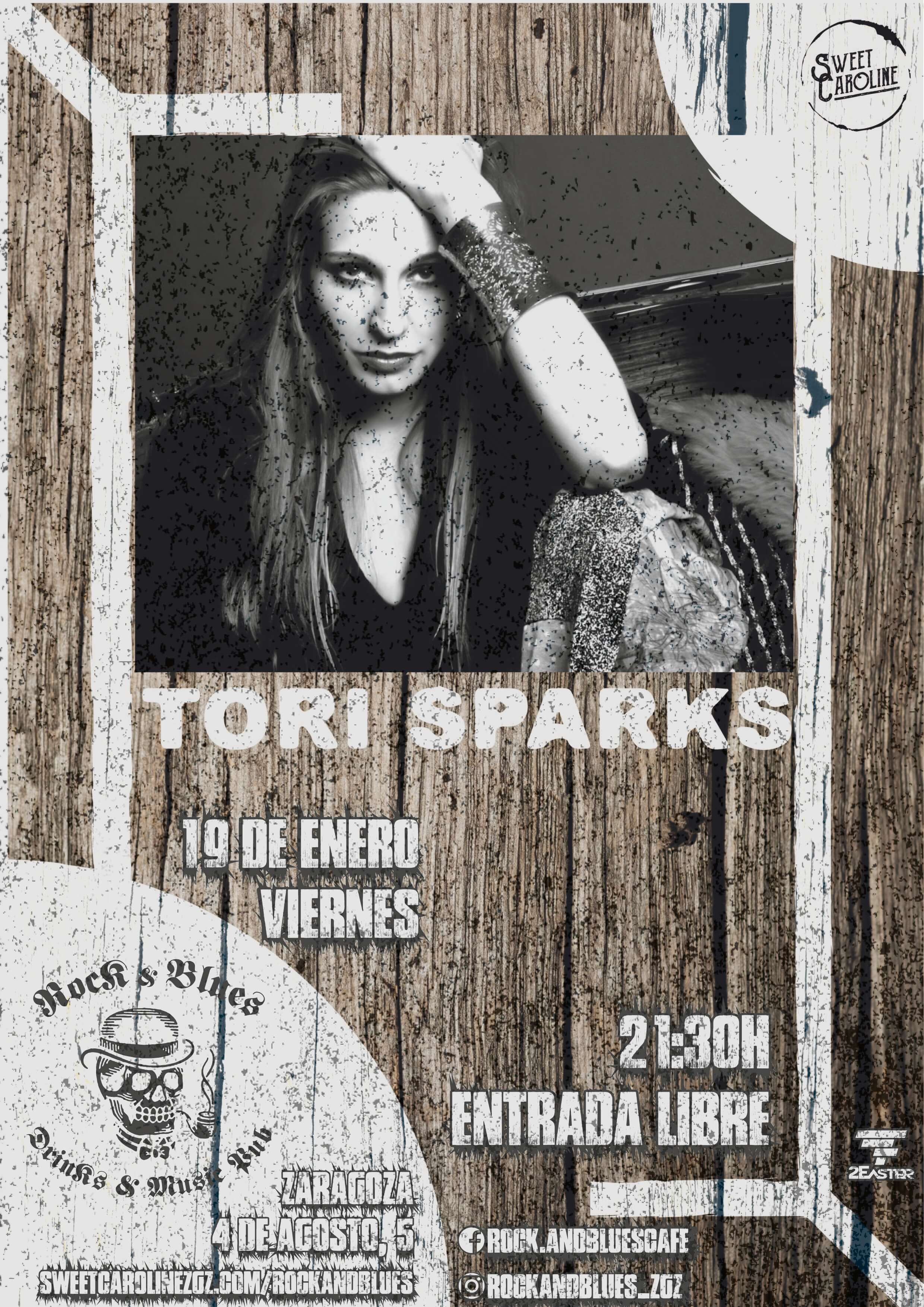 Tori Sparks Rock & Blues Zaragoza