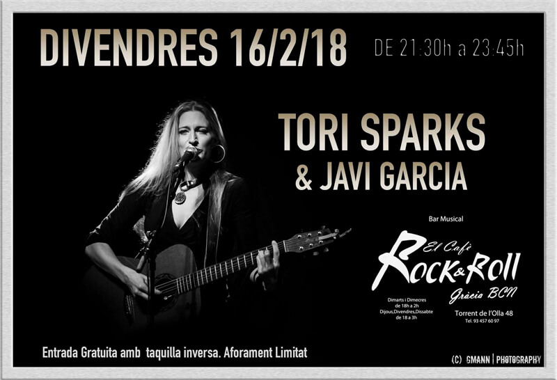 Tori Sparks El Cafe Rock and Roll