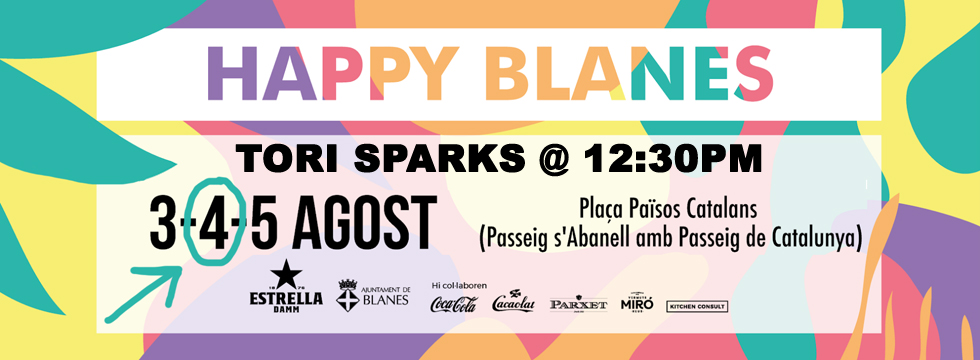 Tori Sparks Happy Food Trucks Blanes