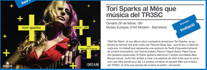 Tori Sparks El Periodico Més Que Música Concierto