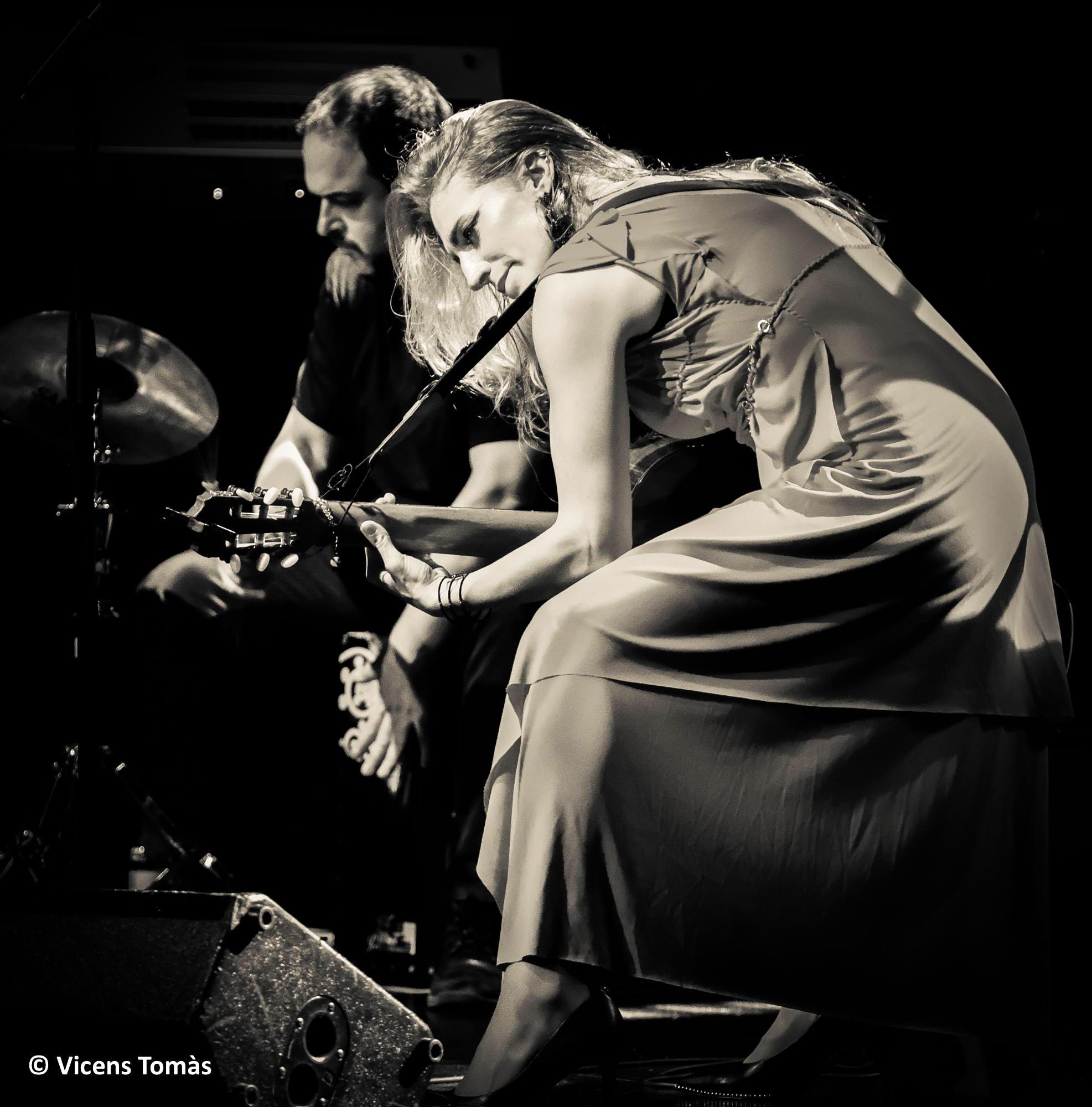 Tori Sparks Wait No More Live Album Recording Photo: Vicens Tomas