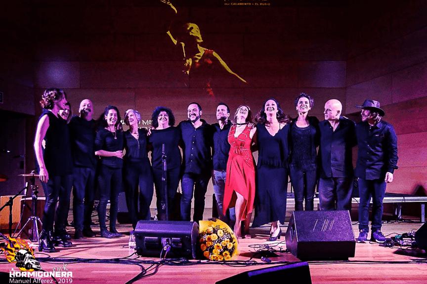 Tori Sparks Wait No More album release concert.  Photo: Manuel Alferez Cano (Hormigonera Rock)