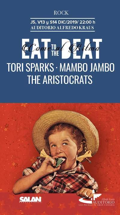 Tori Sparks Eat To The Beat