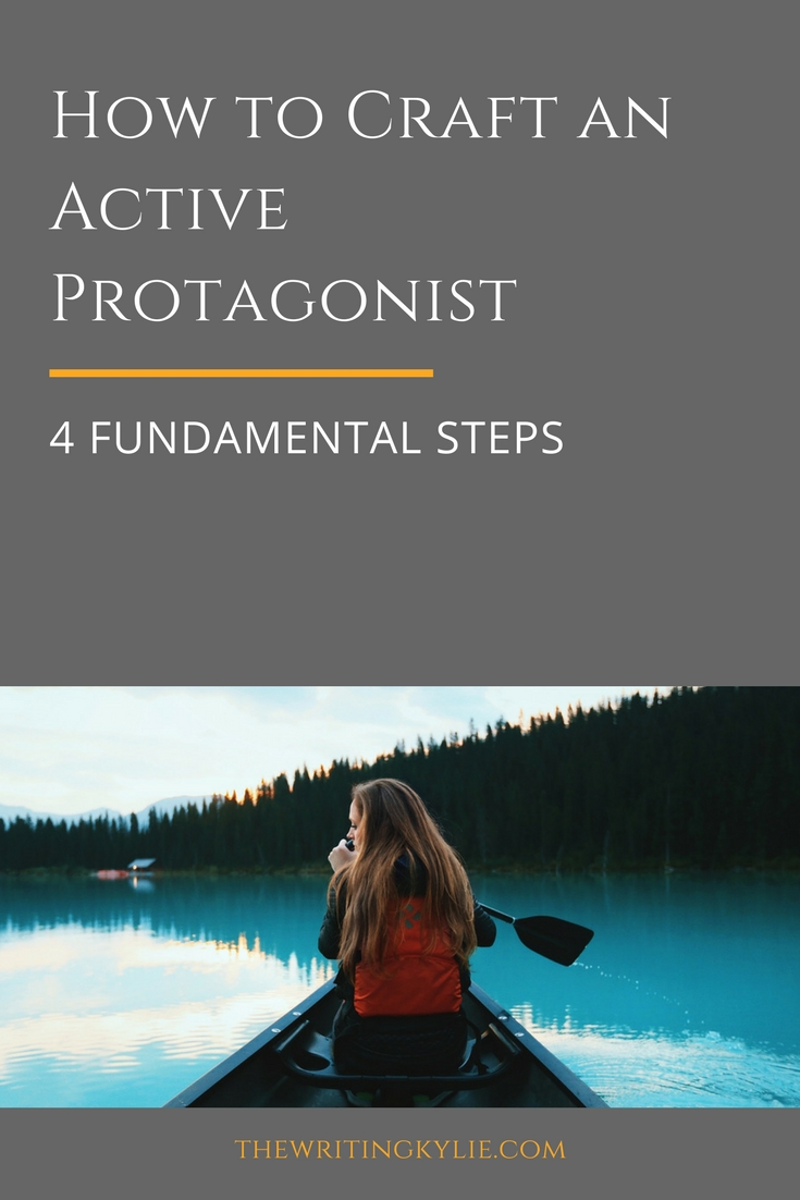 How to Craft an Active Protagonist: 4 Fundamental Steps + a FREE Download