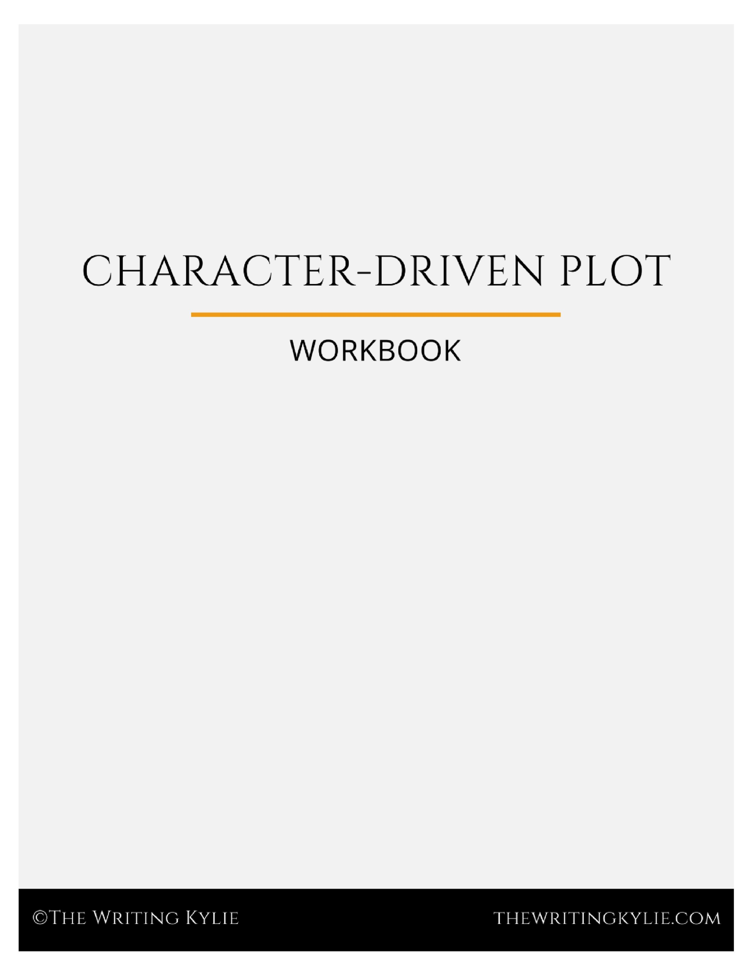 Download the  FREE  Character-Driven Plot Template!
