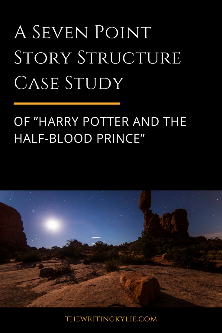 """A Seven Point Story Structure Case Study of """"Harry Potter and the Half-Blood Prince"""" + a FREE Download"""