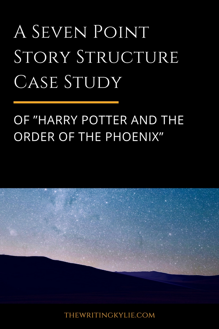 """A Seven Point Story Structure Case Study of """"Harry Potter and the Order of the Phoenix"""" + a FREE Download"""
