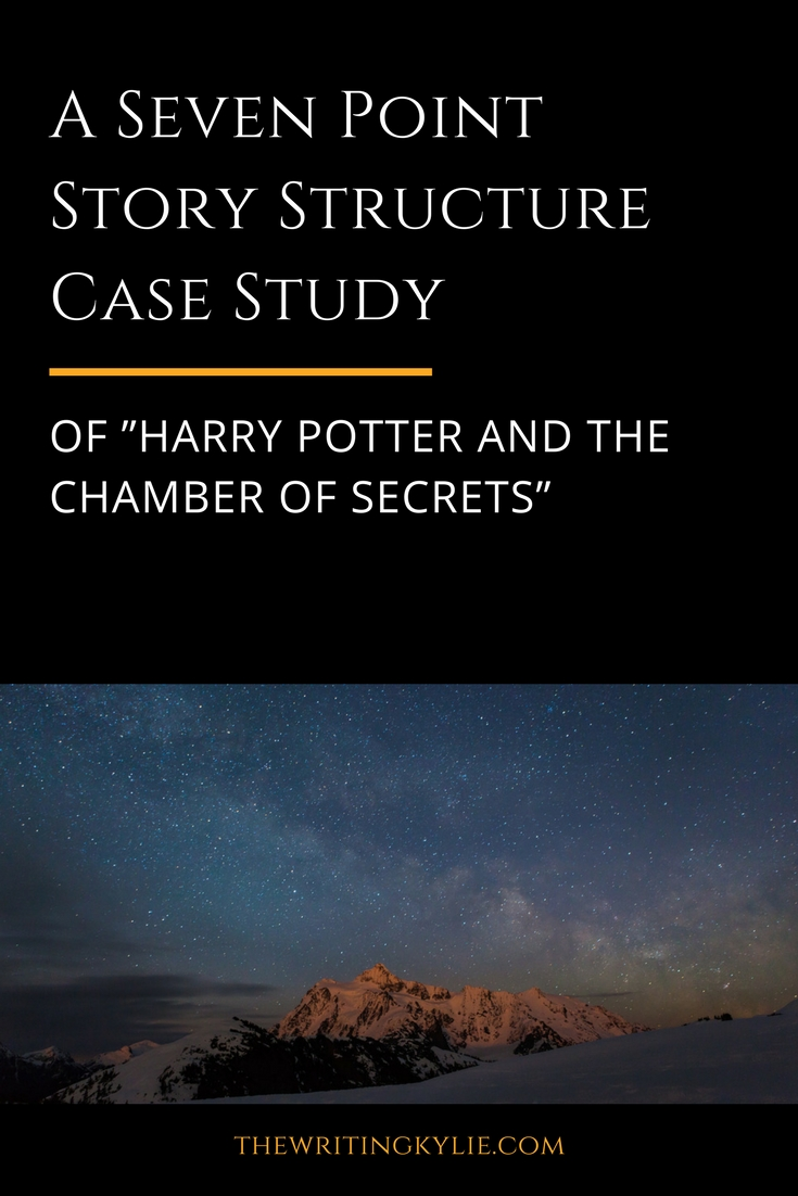 """A Seven Point Story Structure Case Study of """"Harry Potter and the Chamber of Secrets"""" + a FREE Download"""