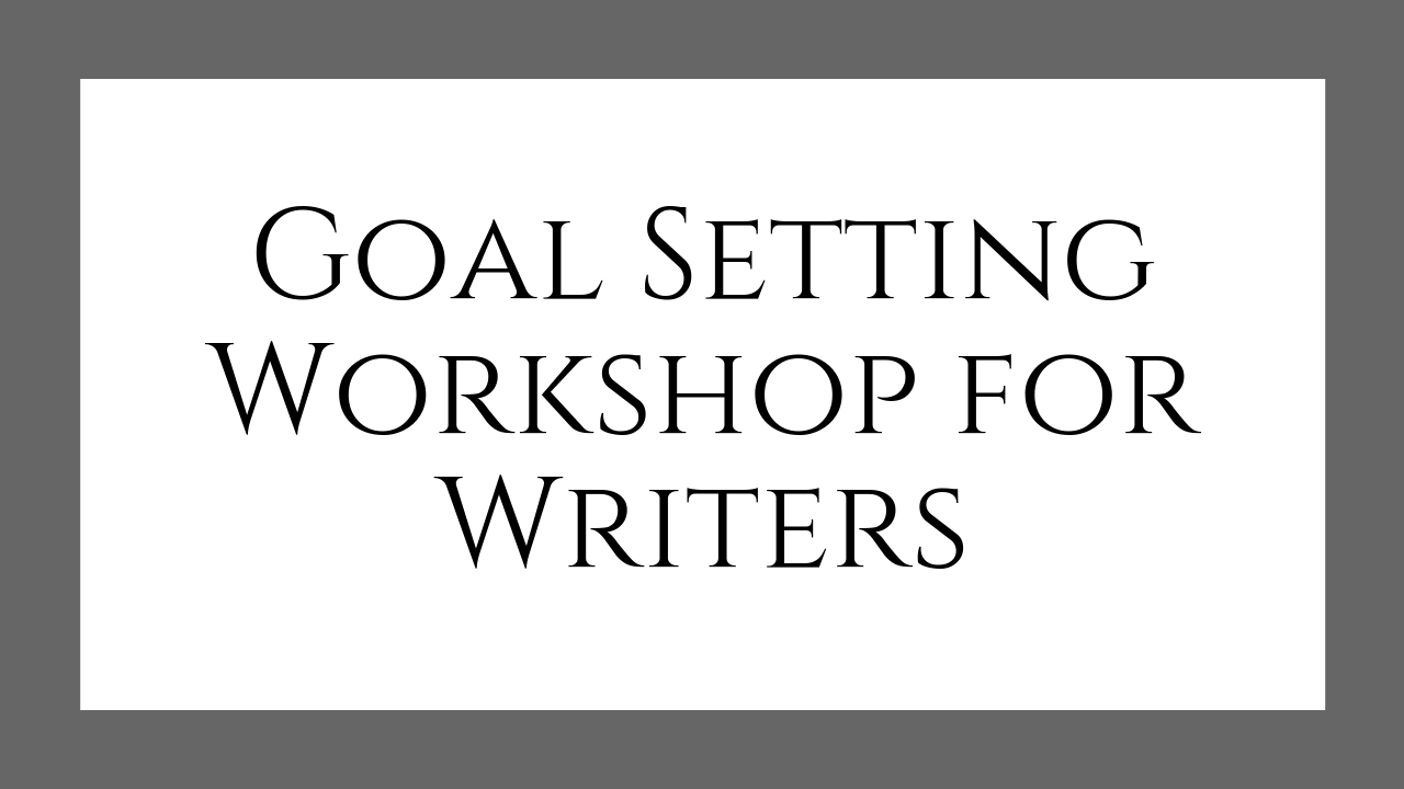 Goal Setting Workshop for Writers - In this  Goal Setting Workshop for Writers , you'll establish your long-term vision, your mission (your  why ), and create intentional, effective, and exciting goals in 3 month chunks.