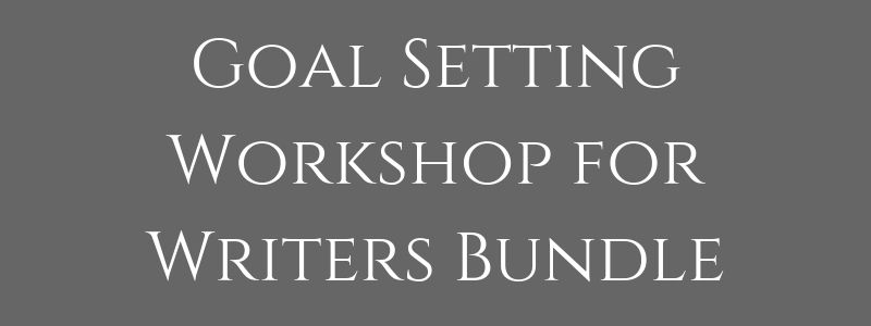 $127 - Goal Setting Workshop for Writers (video + workbook)Master Outline Template (in Scrivener and Word files)Value: $131