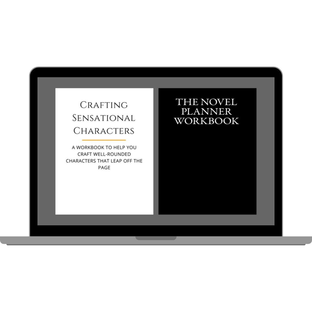 Need some extra guidance to help you bring your stories and characters to life? In these printable workbooks, you'll find tips and ready-made-templates so that you can easily craft and develop your characters or your next epic story. The workbooks available are  The Novel Planner Workbook  and the  Crafting Sensational Characters  workbook.
