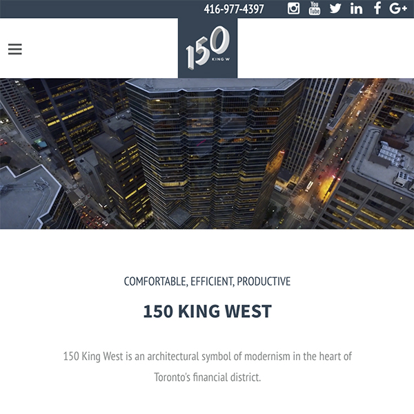150 king W