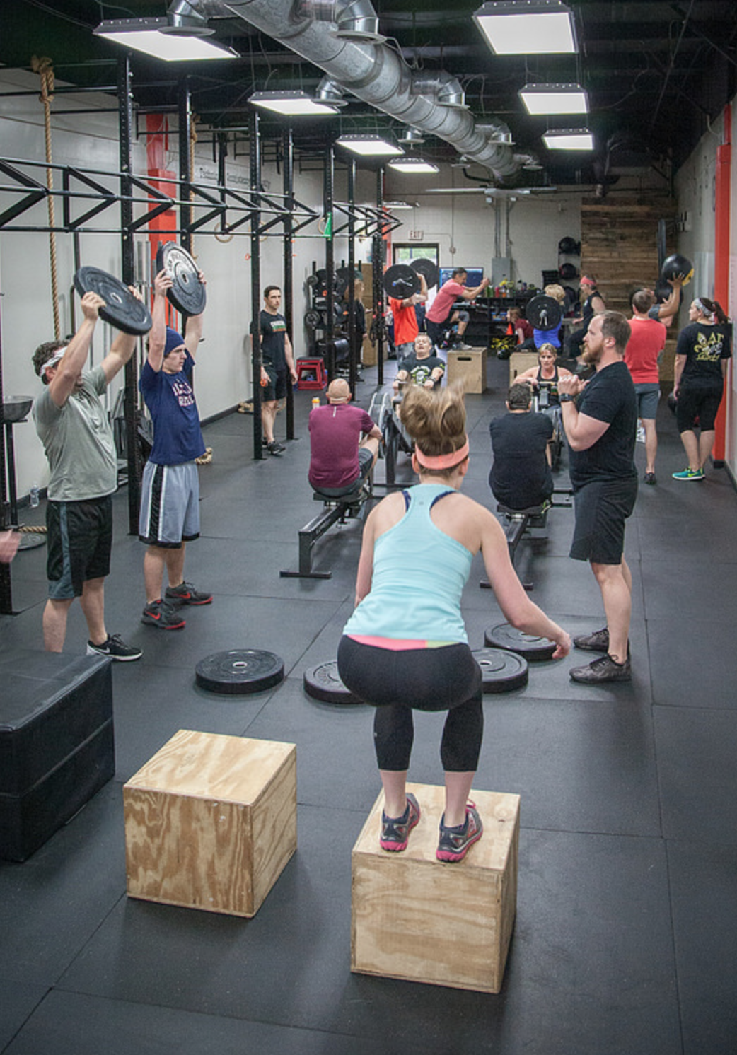 CrossFit 101 - All new members will go through our CrossFit 101 program before joining CrossFit classes. Over the course of four private personal training sessions ($240 value), a prospective member will learn the movements we perform in our CrossFit classes from gymnastics to weightlifting. These sessions are built around your schedule with one of our certified trainers. The sessions will also provide an opportunity for us to adjust these movements to your specific needs or limitations. This program is offered for the low price of $100.