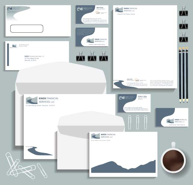 Letterhead, Envelopes, Business Cards
