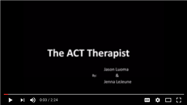 ACT therapist hope compassion