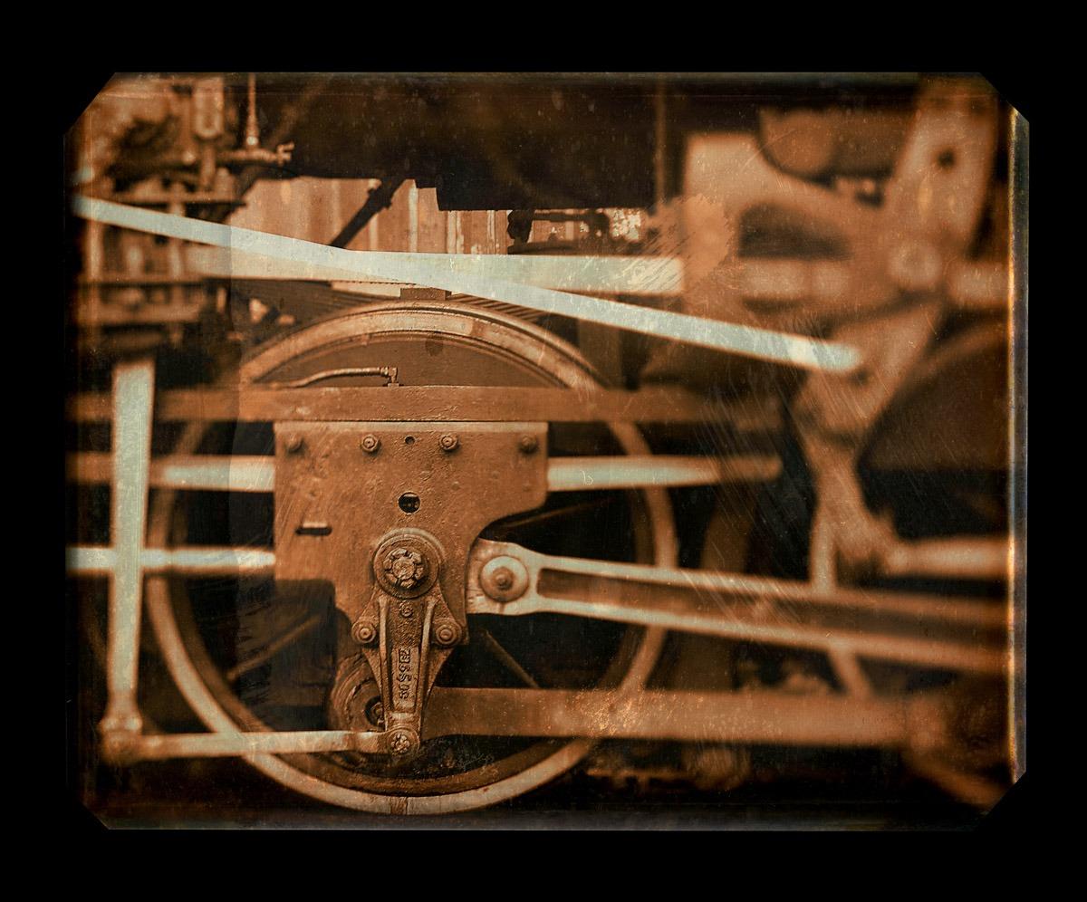 Train Wheel Tin