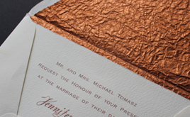 Papers for decorative stationery
