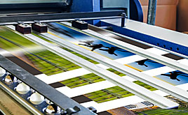 Papers for offset lithography