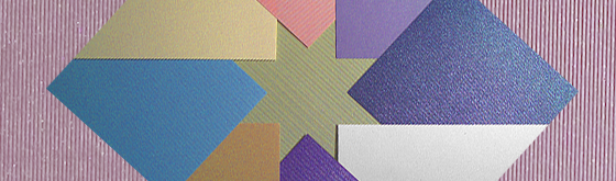Aurora paper for packaging, stationery and printing.