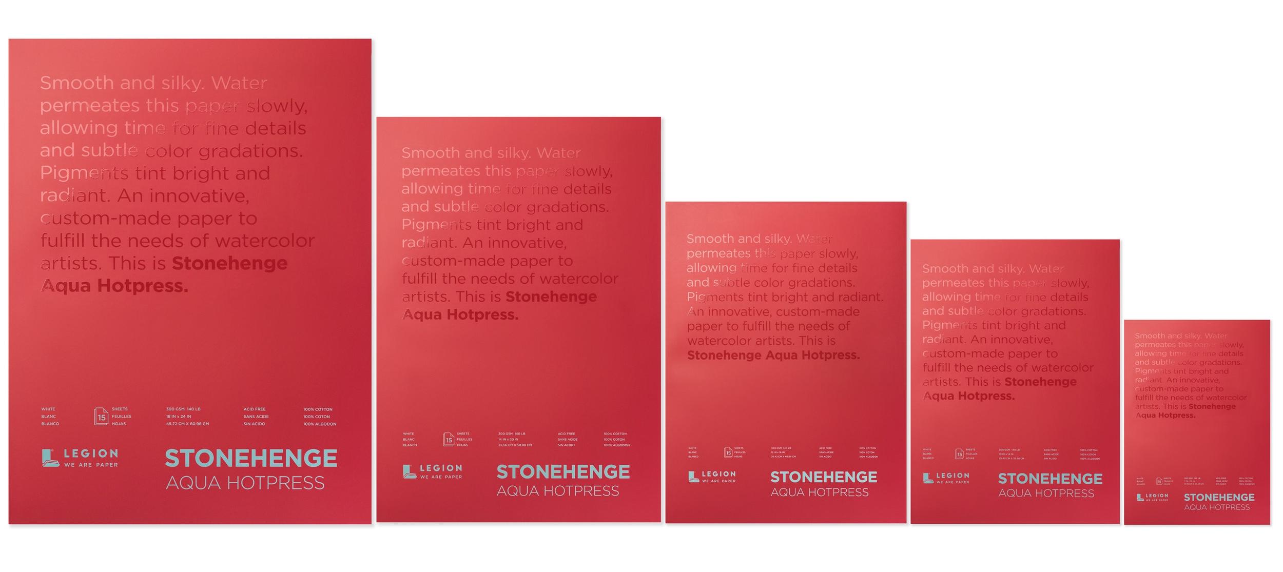 Stonehenge Aqua Art Pads for Watercolor