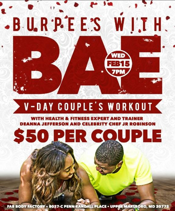Burpees with Bae