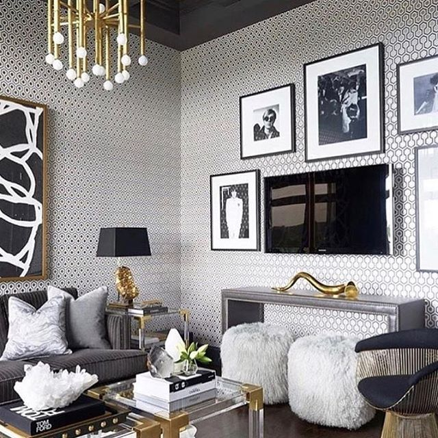 When living my best life meets my living room goals! 💕  _ #interiordesign #homedecor #branded #colorpalette #glam #luxe #design #inspiration #visionboard
