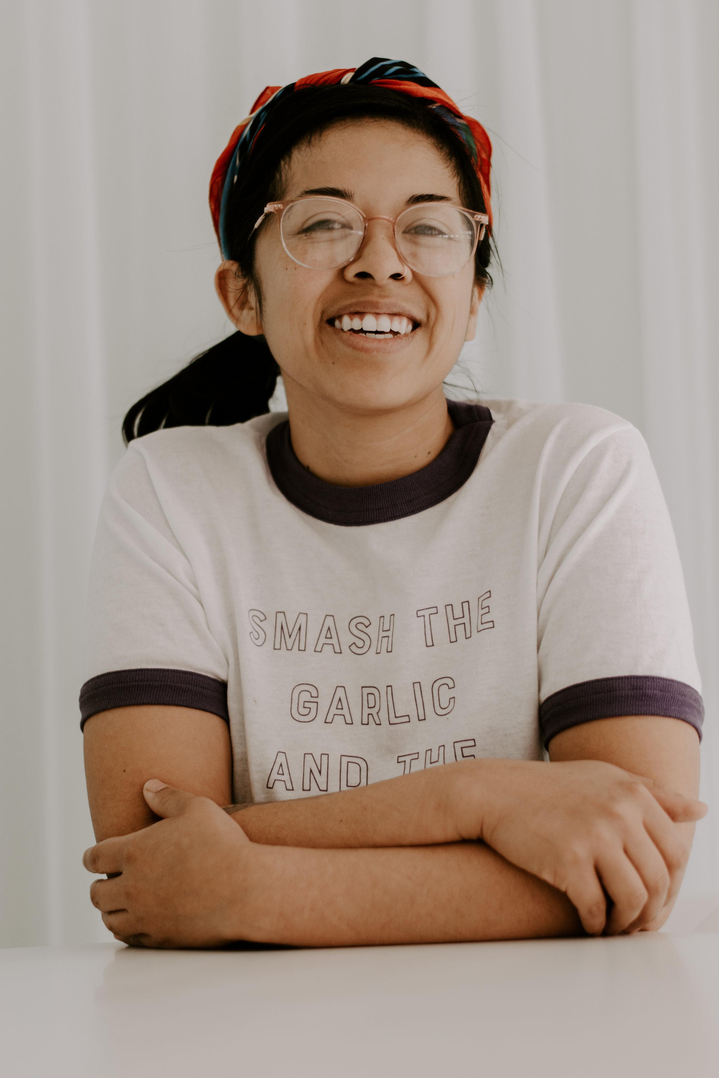 Ellie Tiglao, photographed by Sarah Hummel