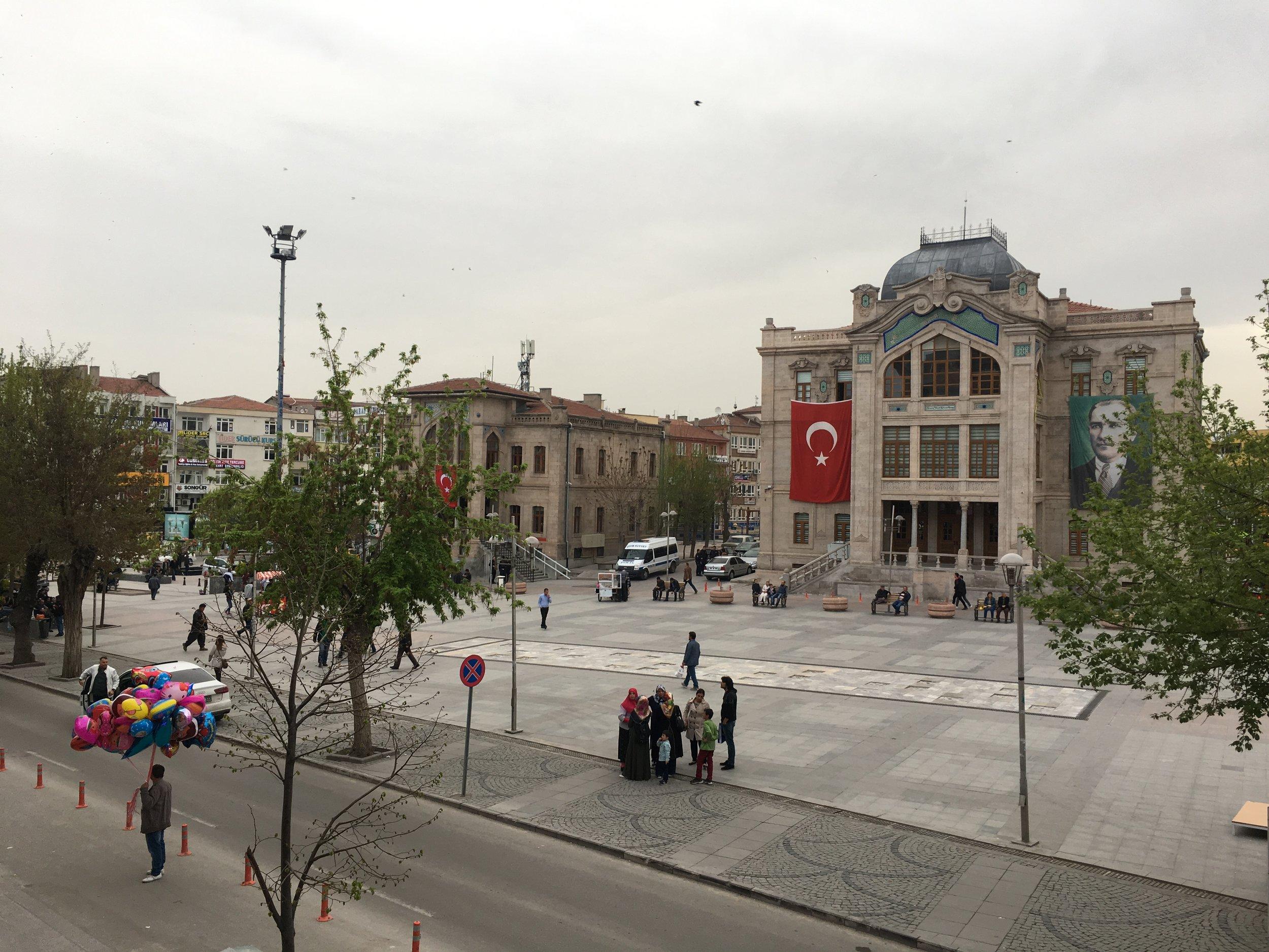 Aksaray's main square.
