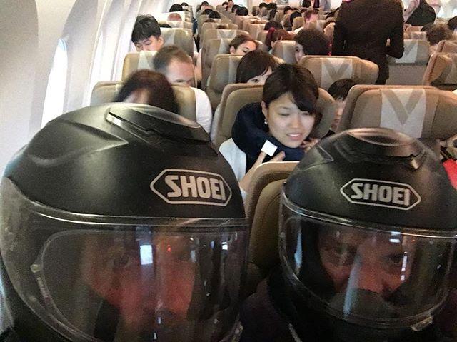 Still getting used to other means of transport. Flying back to Berlin. 🇯🇵✈️🇩🇪👊🏼 #torquetostrangers  #advrider #xladv #advlife #enduro #dualsportlife #offroad #ontheroadagain #adventure #advaddicts #mototour #motoriders #motorider #motorcycle #mototravel #KTM #readytorace #petrolhead #1290superadventure #1290 #1090adventureR #KTMadventure #berlin #tokyo