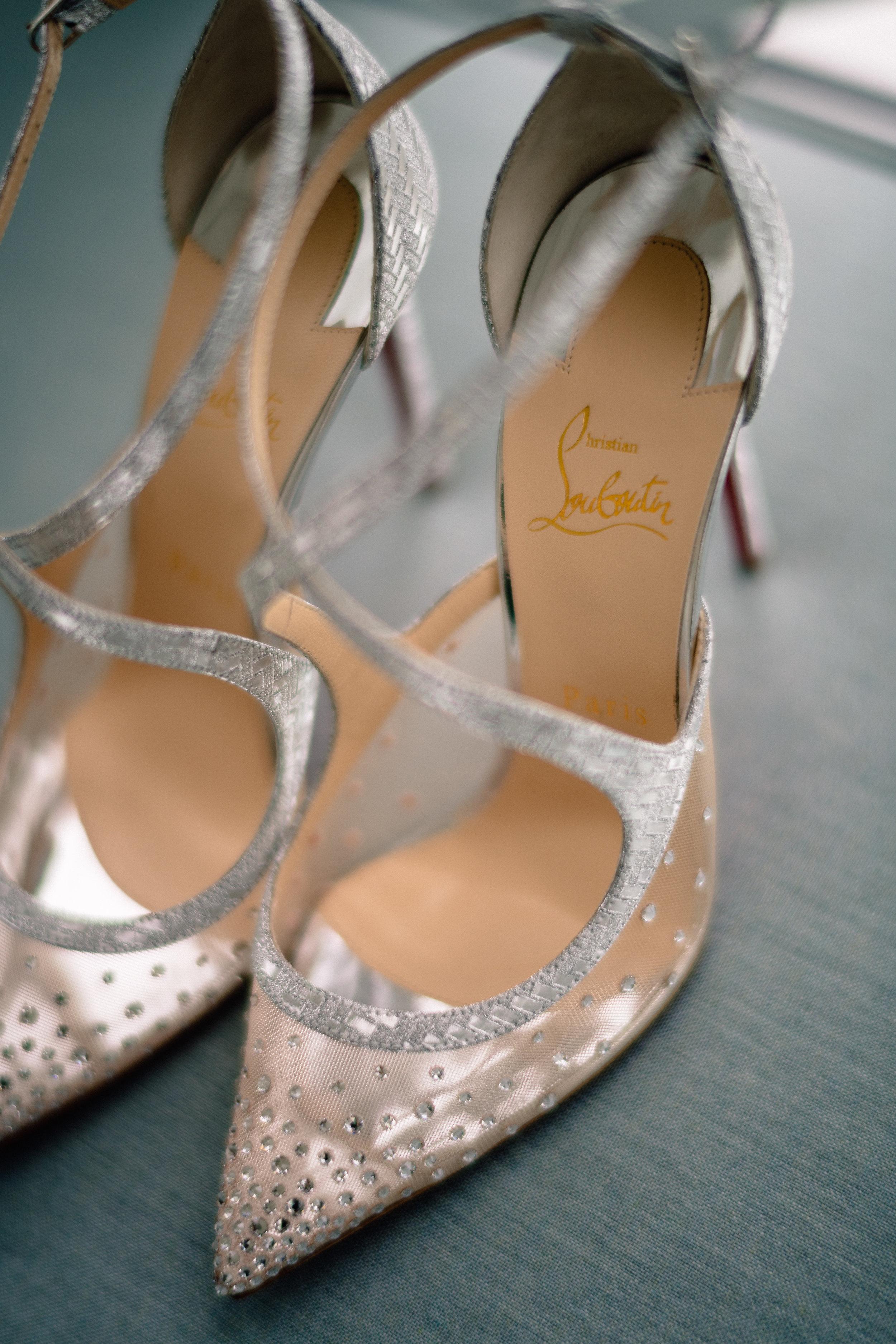 Matt Steeves Wedding Photography Christian Louboutin bridal shoes.jpg