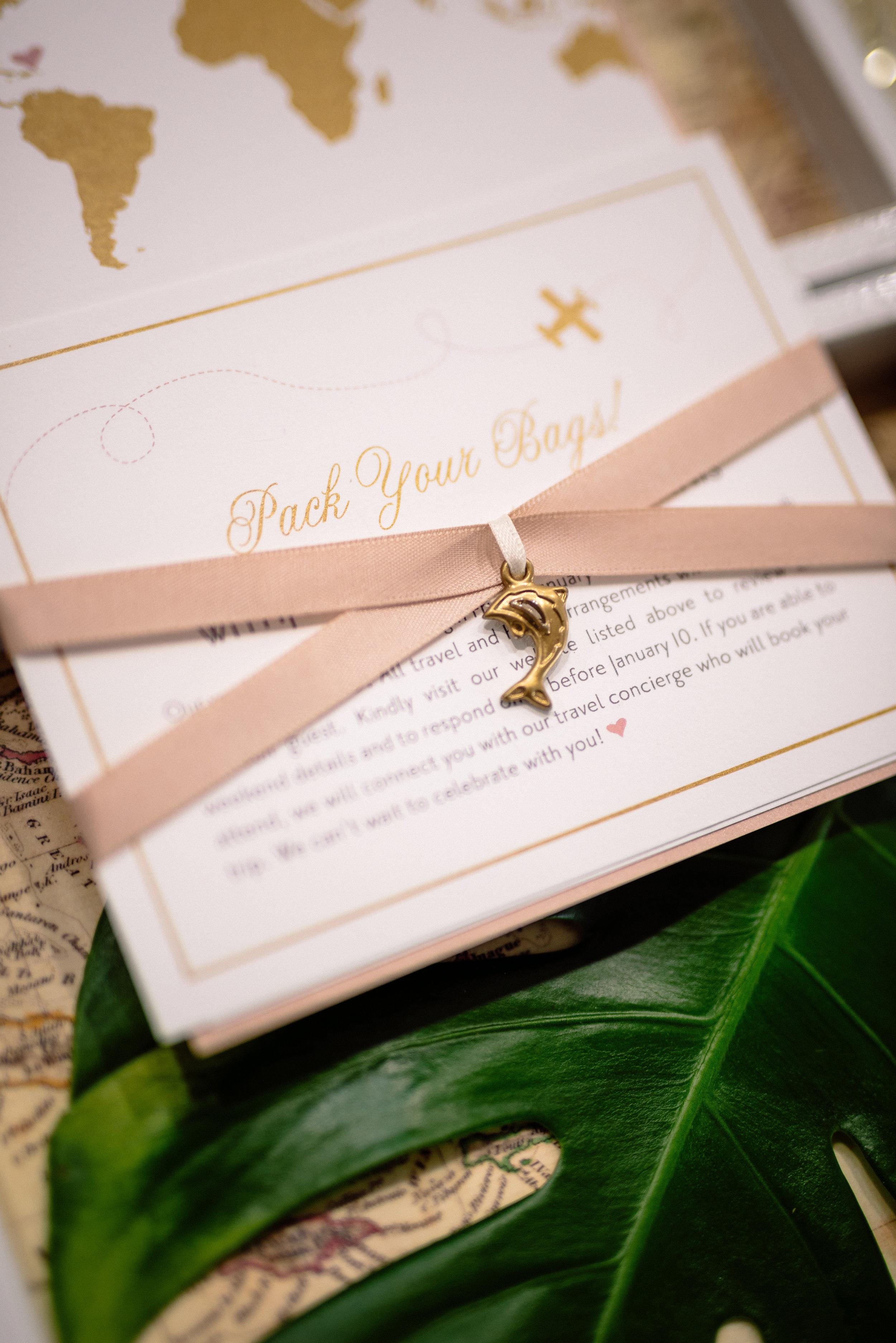 Matt Steeves Love is a Journey Along Came Stephanie Wedding Invitation.jpg