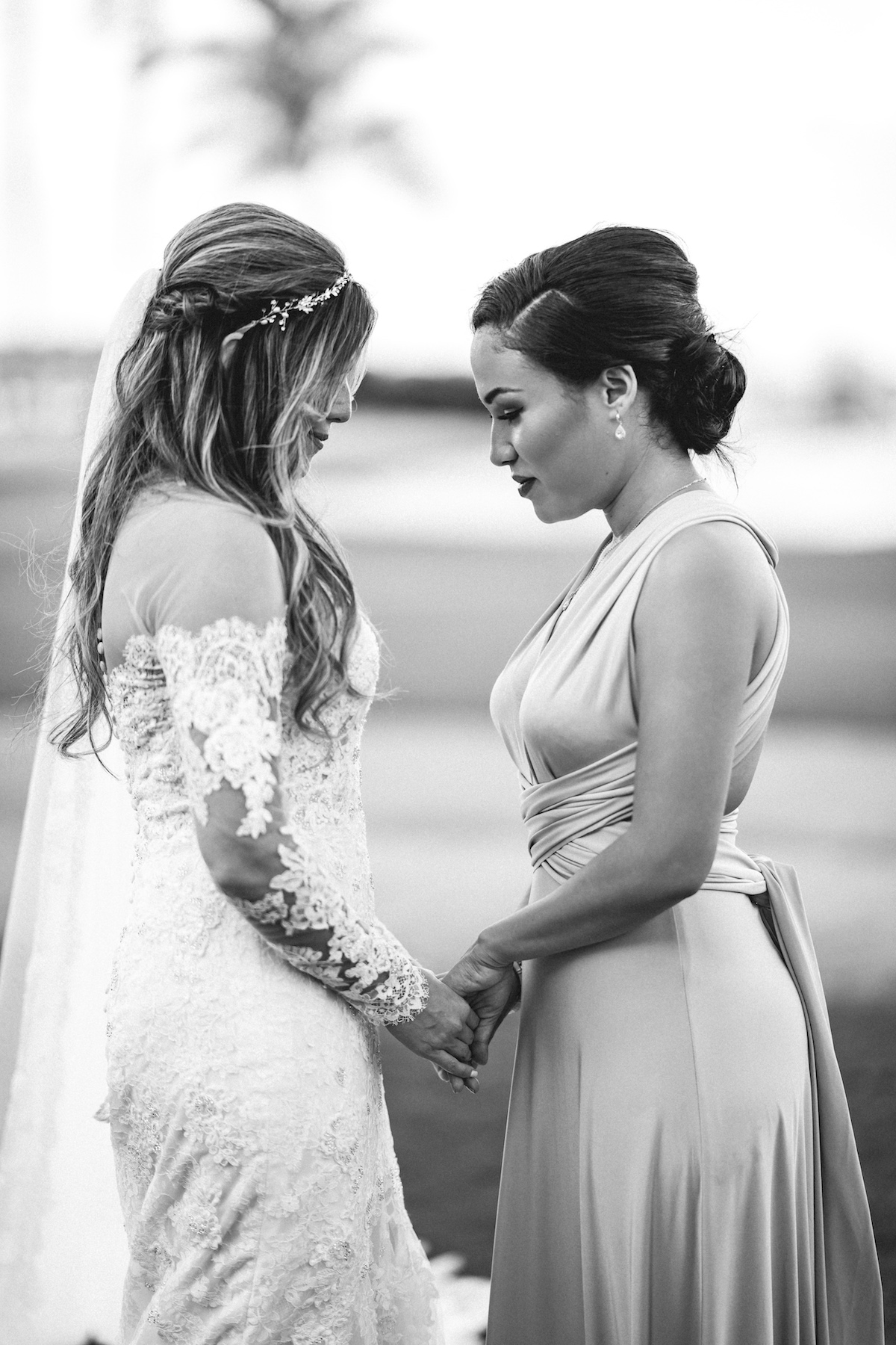 Bride and Maid of Honor Wedding Matt Steeves Naples FL.jpg